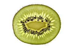 Kiwi slice Stock Image