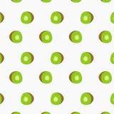 Kiwi Slice Pattern Design Photographie stock libre de droits