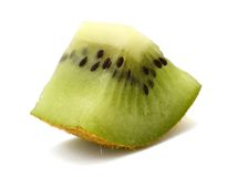 Kiwi slice Stock Images