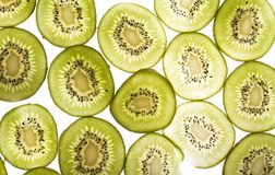 Kiwi Slice Texture Royalty Free Stock Photos