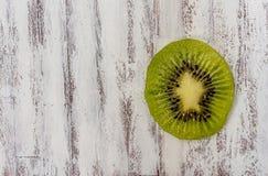 Kiwi slice Stock Photography