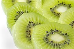 Kiwi Sliced Stock Photo