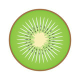 Kiwi sliced in half Stock Photo