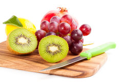 Kiwi sliced segments Royalty Free Stock Image