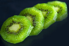 KIWI SLICED Royalty Free Stock Photo