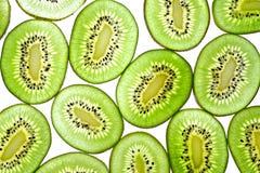 Kiwi Sliced verde Fotos de archivo libres de regalías