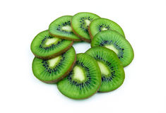 Kiwi slices Royalty Free Stock Image