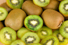 Kiwi slices as background Royalty Free Stock Photography