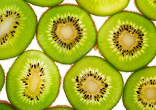 Kiwi slices for background Stock Photo