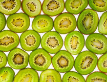 Kiwi slices for background Stock Photos