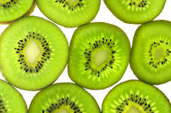Kiwi slices background Stock Images