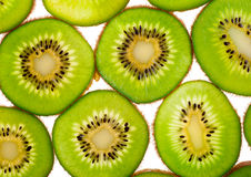Kiwi slices for background Royalty Free Stock Images