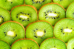 Kiwi slices background Royalty Free Stock Images