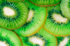 Kiwi slices background Royalty Free Stock Photography