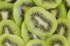 Kiwi slices close up Royalty Free Stock Photography