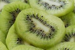 Kiwi slices close up Stock Photo