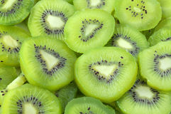 Kiwi slices Stock Images