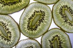 Kiwi slices. How about a few slices of fresh, healthy kiwis Royalty Free Stock Image