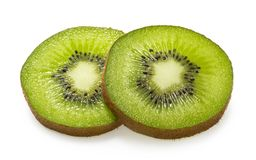 Free Kiwi Slices Isolated On White Background Royalty Free Stock Photo - 134197525