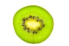Kiwi,Slices of kiwi fruit on white background Royalty Free Stock Photography