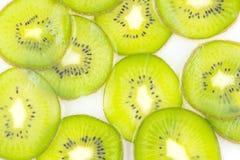Kiwi slices pattern Stock Photo