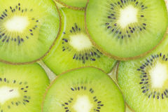 Kiwi slices pattern Royalty Free Stock Images