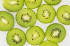 Kiwi slices pattern Stock Image