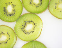 Kiwi slices pattern Royalty Free Stock Photography