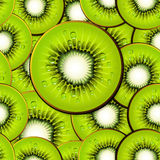 Kiwi slices seamless background Royalty Free Stock Photo