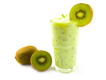 Kiwi Smoothie Stockbilder