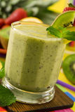 Kiwi smoothie Stock Photography