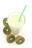 Kiwi smoothie Stock Image