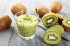 Kiwi smoothie Fotografia Stock