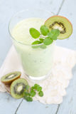 Kiwi Smoothie Royalty-vrije Stock Foto
