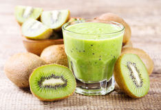Kiwi Smoothie Photographie stock libre de droits