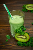Kiwi Smoothie Photo stock