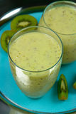 Kiwi Smoothie Stock Images