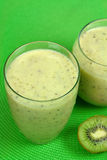 Kiwi Smoothie royalty free stock images