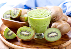 Kiwi smoothie Stock Photo