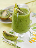 Kiwi smoothie Royalty Free Stock Photo