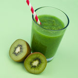 Kiwi smoothie Royalty Free Stock Image