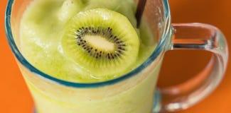 Kiwi smoothie Royalty Free Stock Images