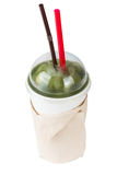 Kiwi Smoothie lokalisiert Stockfoto