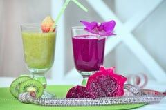 Kiwi smoothies Royalty Free Stock Photography