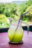 Kiwi soda Royalty Free Stock Images