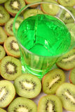 kiwi soków zdjęcie royalty free