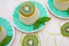 Kiwi sorbet Stock Photos