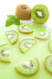 Kiwi soup Stock Photography
