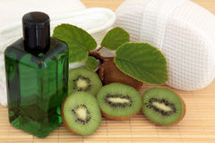 Kiwi Spa Treatment Stock Photo