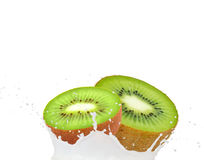 Kiwi splash Stock Photography